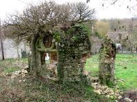 Restes de la chapelle de Glandelles