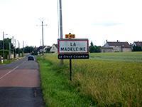 Entrée de la Madeleine